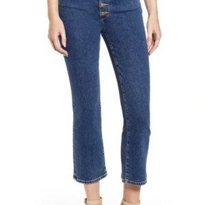 Joe's Jeans Callie Exposed Button Fly Jeans